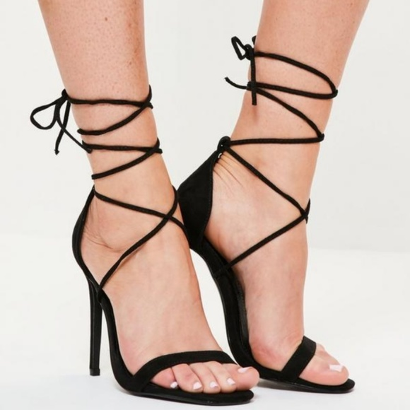 sexy lace up sandals
